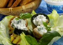 Grilované zeleninové plátky
