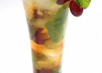 Ledový jogurtový koktejl