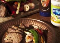 Marinovaná vepřová krkovice v bylinkové marinádě a Barbecue omáčce